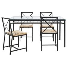 glass alba small black chrome dining table extending extendable