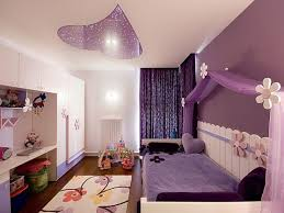 delightful baby bedroom ideas with white and purple color