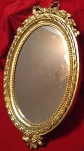home interior mirror vintage home interiors oval decorative ornate gold frame picture