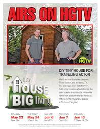 television premiere seth numrich u0027s custom home on tiny house big