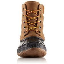 sorel men u0027s 8 in cheyanne ii lace up waterproof duck boots