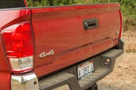 2016 toyota tacoma tail light 2016 toyota tacoma first drive review motor trend