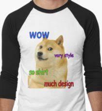 Doge Meme T Shirt - doge meme t shirts redbubble