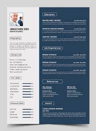 Sample Graphic Design Resume by 15 Free Elegant Modern Cv Resume Templates Psd Freebies