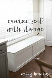 how to build a window seat with storage diy tutorial extra