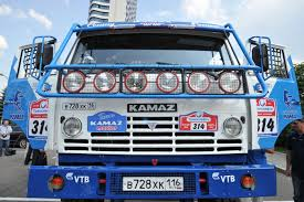 rally truck gas fueled kamaz rally truck at gazprom