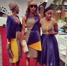 tradition wedding guests in african attires artisticgusto designs