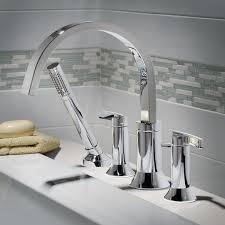 Faucet For Tub by Berwick Deck Mount Bathtub Faucet With Lever Handles American