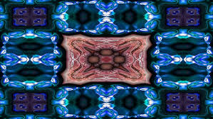 blue kaleidoscope wallpaper blue kaleidoscope sequence patterns abstract multicolored motion