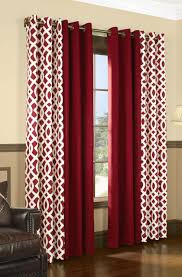 Red Curtains Living Room Decor Interesting Window Drapes For Window Covering Ideas