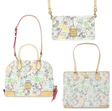 new disney dooney u0026 bourke designs and an update to a classic for
