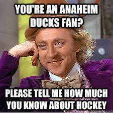 Anaheim Ducks Memes - anaheim ducks meme google search hockey s t pinterest