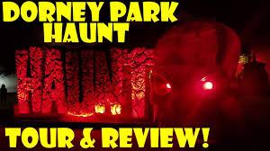 2017 dorney park halloween haunt full tour u0026 review of all the