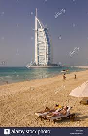 The Burj Al Arab Dubai United Arab Emirates The Burj Al Arab Luxury Hotel In