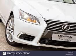 lexus color lexus ls 460l saloon car white color stock photo royalty free