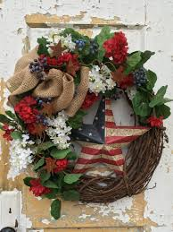patriotic wreath veterans day wreath americana wreath crafts