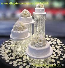 cake stands cheap wedding cupcake stand acrylic bead cascade waterfall