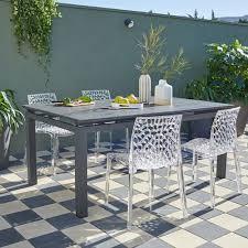 chaises salon de jardin salon de jardin table et chaise mobilier de jardin leroy merlin
