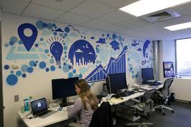 Pictures For Office Walls by New York Facebook Office Graffiti Art Graffiti Usa