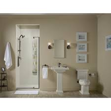 Kohler Frameless Shower Doors by Kohler K 707516 L Shp Revel Bright Polished Silver Shower Doors