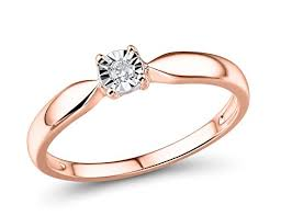 gold promise rings diamond promise ring in 10k gold and rhodium plated 10k white