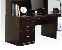 Espresso Corner Computer Desk by Espresso Finish Cape Modern Desk W Options By Acme