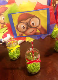 Curious George Centerpieces by 60 Best Curious George Birthday Images On Pinterest Curious