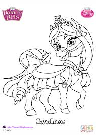 Palace Pets Pumpkin by Palace Pets Lychee Coloring Page Free Printable Coloring Pages