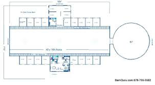 Horse Barn Blueprints Plans Ideas And Stall Floor Plan Design Free Floor Plans For Barns