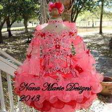 glitz pageant dresses national glitz pageant dress custom order from nanamariedesigns