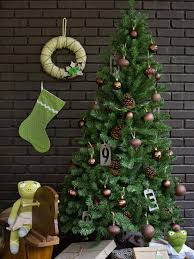 the brown christmas tree 12 color combos you ve never tried hgtv
