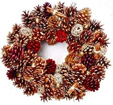 pine cone wreath pine cone wreath 20 in the wreath depot