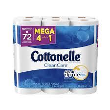 Best Sheet Brands On Amazon Amazon Com Cottonelle Clean Care Toilet Paper Double Roll 4