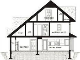 saltbox house plan with garage particular home plans modern lrg