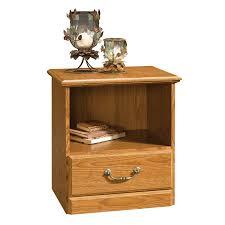 Sauder Bedroom Furniture Shop Sauder Orchard Hills Carolina Oak Nightstand At Lowes Com