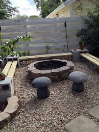 Simple Outdoor Bench Seat Plans by 25 Best Fire Pit Seating Ideas On Pinterest Backyard Seating