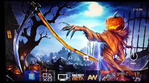 halloween theme wallpaper ps4 themes 1 a dark halloween pumpkin dealer dynamic theme youtube