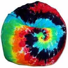 large tie dye bean bag chairs especial needs