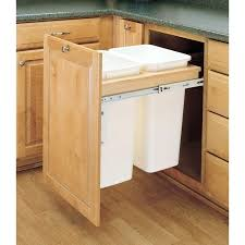 trash cans for kitchen cabinets kitchen cabinet trash can hardware in garbage cabinets trash