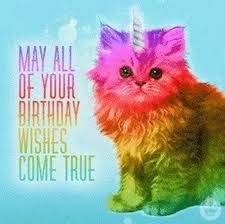 Unicorn Birthday Meme - rainbow unicorn birthday meme mne vse pohuj