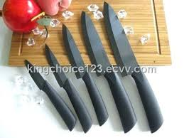 ebay kitchen knives knifes kitchenaid black knife set black kitchen knife set in