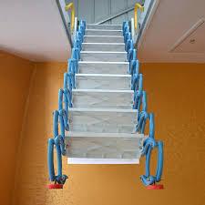 automatic attic ladder metal scissor attic ladder automatic attic