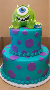 monsters inc birthday cake monsters inc cake pinteres