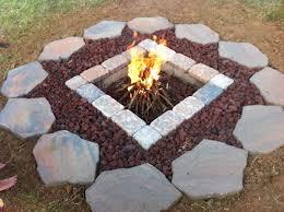 Rumblestone Fire Pit Insert by Fire Pit Lava Rocks Fire Pit Ideas