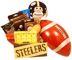 gifts for steelers fans pittsburgh steelers easter basket 48 99 gifts for pittsburgh