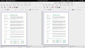 Resume Template Docx Resume Template Libreoffice Resume For Your Job Application