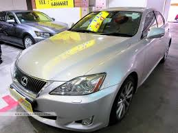 toyota lexus is 250 buy used toyota lexus is250 auto lux fl car in singapore 43 800