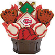 cincinnati gift baskets cincinnati reds gifts cookies by design