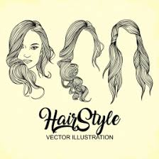 hairstyles vectors stock for free download about 49 vectors