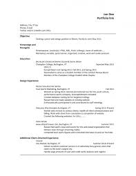 resume template professional objective good sales objectives
